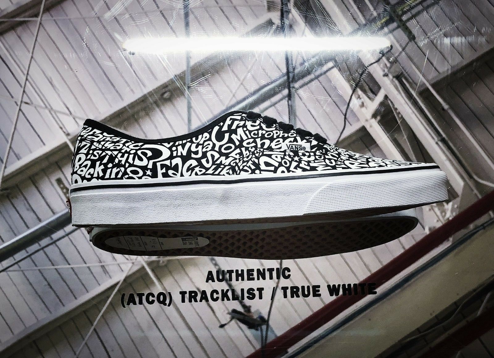 Vans X A Tribe Called Quest Authentic Tracklist Weiß, sz 13