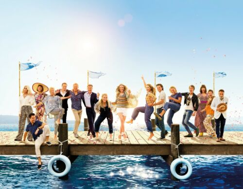 MAMMA MIA HERE WE GO AGAIN POSTER FILM A4 A3 A2 A1 LARGE FORMAT CINEMA MOVIE #4