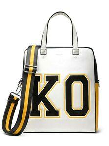 Michael Kors Unisex Collection Nikki Varsity Tote Overnight Gym Bag $1590.00