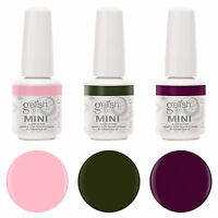 Gelish Mini 3 Bottle Soak Off Gel Nail Polish Collection Pack Set Package, 9ml on Sale