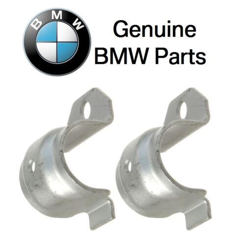 For BMW E24 Set of 2 Genuine Support Bracket for Sway Bar Bushing 33506779734