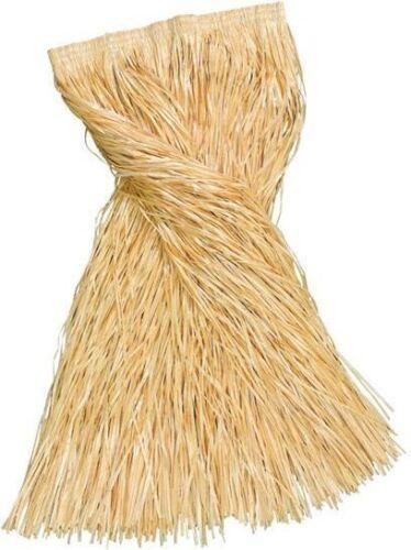 PLAIN HAWAIIAN FANCY DRESS GRASS SKIRT ADULT 80CM