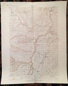 Usgs Topographic Map 1928 Data Madras Quadrangle