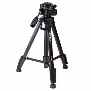 44% Off YUNTENG VCT-668 Portable Video DSLR Camera Camcorder Tripod Kit