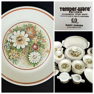Lenox-Temper-Ware-Magic-Garden-59-Piece-Place-Setting-for-9-Plus-Support-Pieces