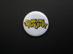 BOWLING-FOR-SOUP-LOGO-1-034-Button-Badge-FREE-UK-POSTAGE