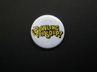 "BOWLING FOR SOUP - LOGO  -1""  Button Badge- FREE UK POSTAGE!"