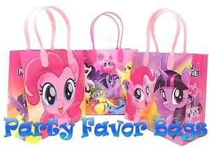 12 pcs my little pony party hasbro favor bags candy treat birthday