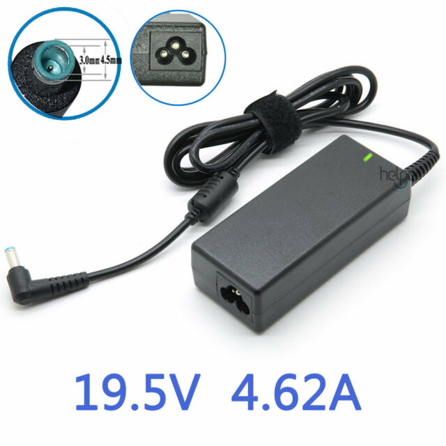 HP OEM Notebook Power Adapter 19.5V 4.62A 90W (4.5x3.0mm) with pin