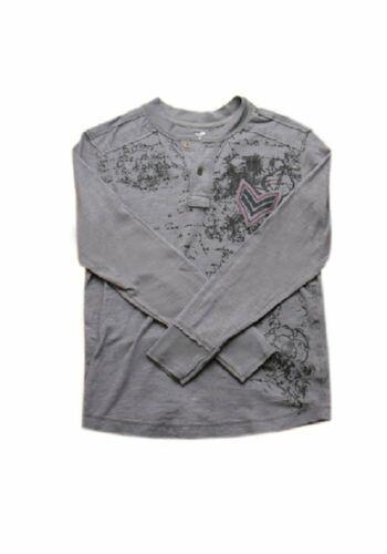 Garçons T-shirt Uproar personnage imprimé jeunesse ado manches longues Haut Décontracté 8-20 Âge