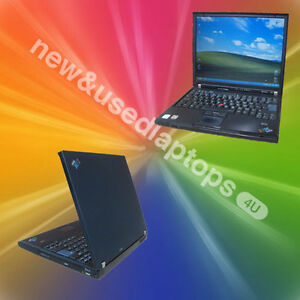IBM-Lenovo-T60-ThinkPad-Laptop-Core-Duo-1-83Ghz-2GB-RAM-6-Month-Warranty-Office