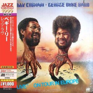 Cobham-Billy-Billy-Cobham-George-Duke-Band-Live-New-CD-Argentina-Import