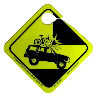 MIND THE RACK 2for1 Sale The Best Car Bike /& Gear Roof Rack Reminder /& Warning