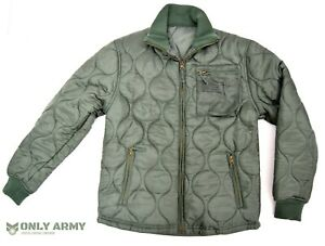USAF-Quilted-Padded-Cold-Weather-Jacket-Parka-Liner-US-Army-Air-Force-Jacket