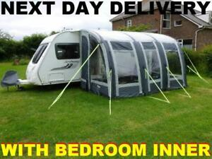 New 2018 Leisurewize Ontario Air 390 Inflatable Awning With Bedroom