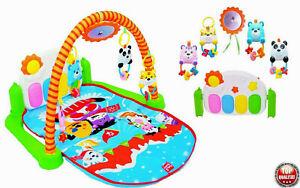 Krabbeldecke Spieldecke Erlebnisdecke Spielmatte Spielbogen Babydecke Musik