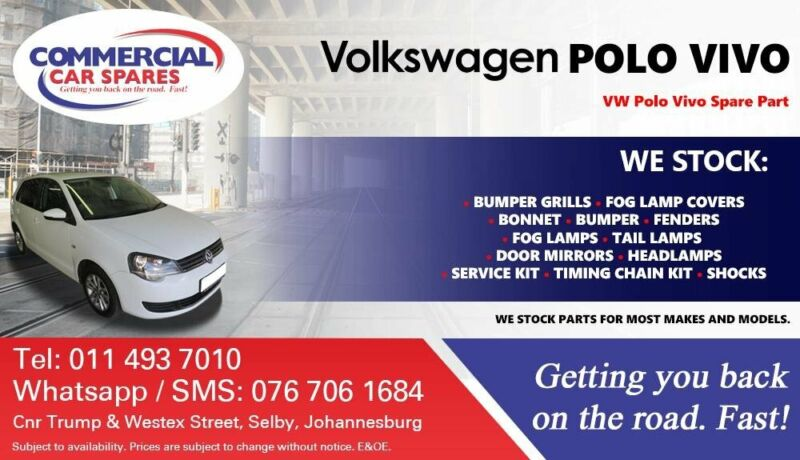 VW Polo Vivo Parts and Spares For Sale