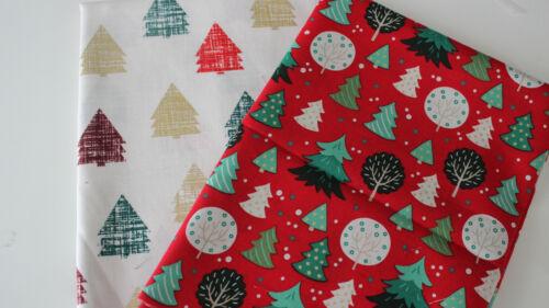 Weihnachten Baumwollstoff  2 x 50 x 140//150  Weihnachten I