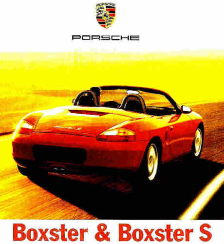 BOXSTER S-PORSCHE BOXSTER 2002 PORSCHE BOXSTER DELUXE BROCHURE Car ...