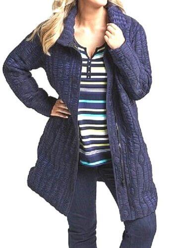12 Blue Moon Jacket warm puffer NWT rrp$230! TS coat TAKING SHAPE plus sz XXS