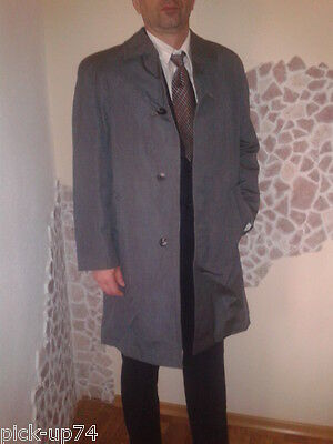 Mainleus Herren Business Mantel Coat Trenchcoat Übergang Gr 50 52  Frühling