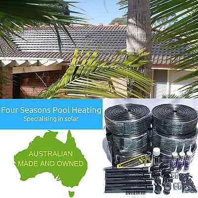 30m2 Solar Roof Kit Diy Swimming Pool Spa 12 Tube Solar