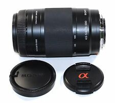 Sony SAL 75-300mm f/4.5-5.6 CS Lens - MINT CONDITION