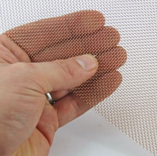 Various Mesh Specifications MEGA LISTING Phosphor Bronze Woven Wire Mesh