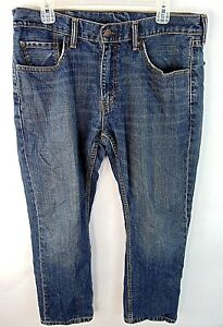 Levi Homme Jeans 30x34 559 Co Droite Strauss Lavage Moyen Levis Taille Rouge pYaqprZn