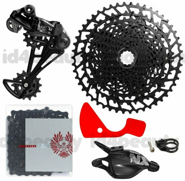 SRAM NX 1x11 Speed 4pcs Groupset include Sunrace CSMX80 50T Cassette MTB