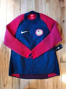 Nike Team USA Dynamic Reveal Olympic Jacket 809541-451 Women s SMALL ... 2746914f45908
