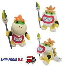 "NEW Super Mario Plush - 7"" Bowser Jr. Koopa Soft Stuffed Plush Toy US seller"