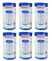 Coleman Type Iii A/c Pool Filter Pump Replacement Cartridge, 6-pack   90307 on Sale