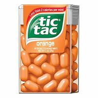 4 Pack - Tic Tac Orange 1oz Each on sale
