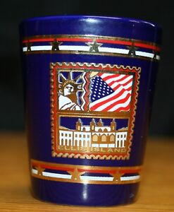 Ellis Island Shot Glass