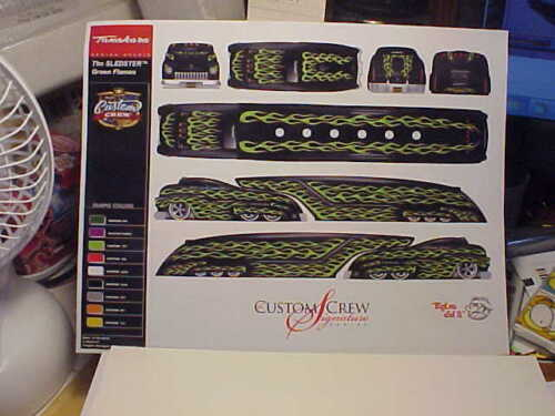 Custom Crew E-Sheet The Sledster Diecast Collectable