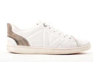 e70ce6575790 Image is loading Louis-Vuitton-White-Fuselage-Low-Top-Trainers-Sneakers-
