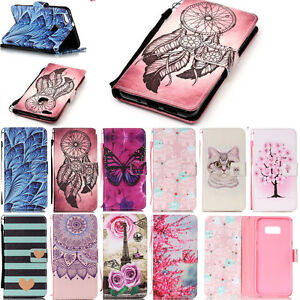 Flip-Leather-Case-Wallet-With-TPU-Stand-Cover-Case-With-Strap-For-Various-Phone