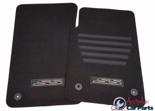 FLOOR Carpet MATS suits Holden COMMODORE VE UTE SS BLACK 2007-2013 GENUINE NEW