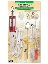 """Clover MINI IRON II """"The Adapter Set"""", 5 Quilting Tips, # 9101"""