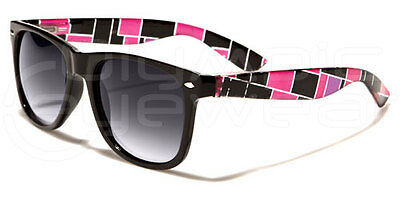 New Retro Style Plaid Checkered Pattern Womens Ladies Stylish Sunglasses-wf01ptn
