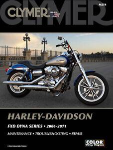 Harley-Davidson-FXDF-Fat-Bob-FXDFSE-FXDFSE2-CVO-Dyna-2006-11-Clymer-Manuale-M254