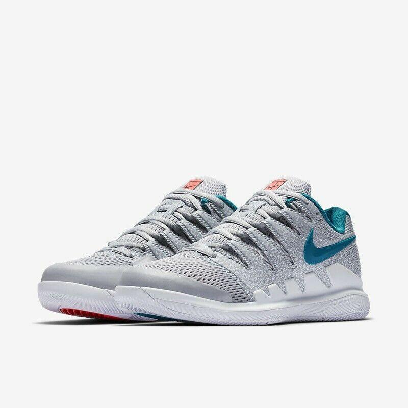 Nuevo Y En Caja Wmns Nike Air Zoom Vapor  X HC tenis Reino Unido 4 100% Authenti AA8027 064  la mejor selección de