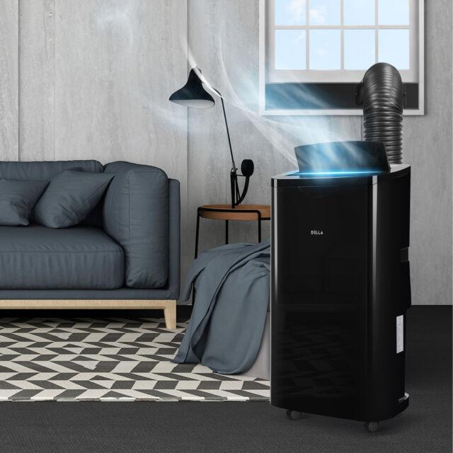 DELLA 14000 BTU Portable A/C Air Conditioner + 1050W ...