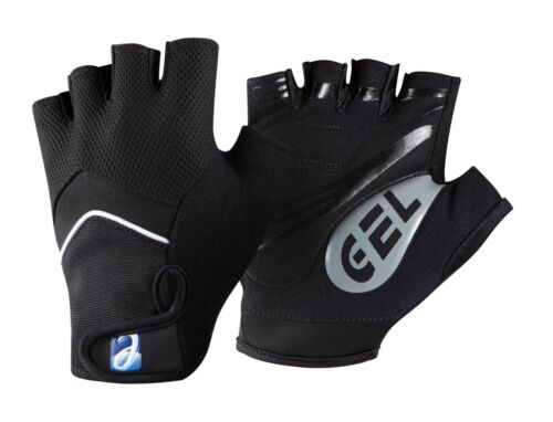 Elite Cycling Project Men/'s Road Racer Gel Fingerless Gloves