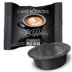 50-CAPSULE-DON-CARLO-CAFFE-BORBONE-MISCELA-NERA-NERO-PER-LAVAZZA-A-MODO-MIO