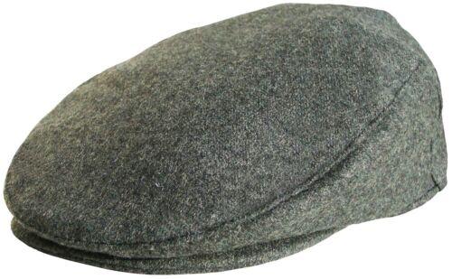 Da Uomo Tinta Unita Berretto Piatto in Grigio Nero Navy BAKER BOY CAPPELLO abbia raggiunto l/'apice Cappello da Strillone Paese CAPS