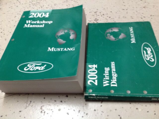 2006 Ford Mustang Gt Cobra Mach Service Shop Repair Set W Wiring Diagram