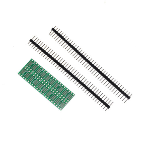 New 10pcs SOP8 SO8 SOIC8 TSSOP8 TO DIP8 adapter to DIP Pin HeaderPDH