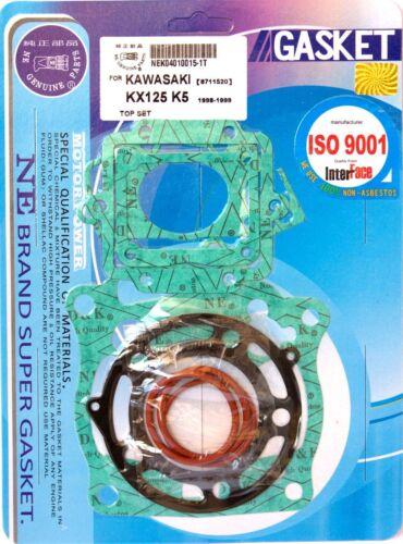 KR Motorcycle gasket set TOP END for KAWASAKI KX 125 98-99 new